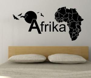Afrika Wandtattoo von MHG Design