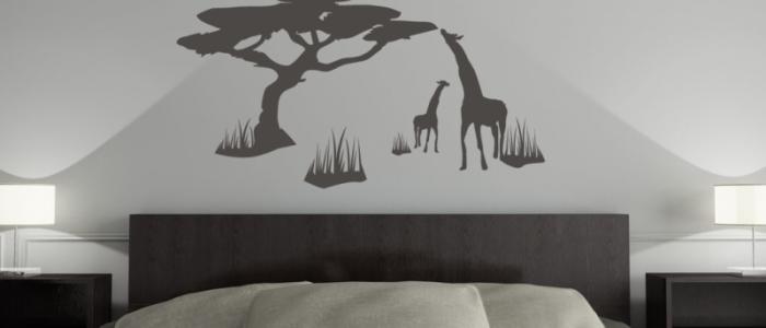 Giraffe Wandtattoo